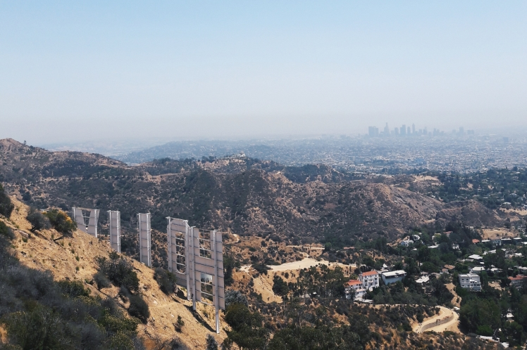 Hike behind the Hollywood Sign
